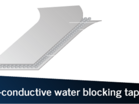 Non-conductive water blocking tape