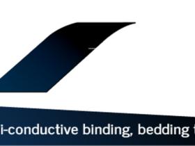 Semi-conductive binding bedding tape