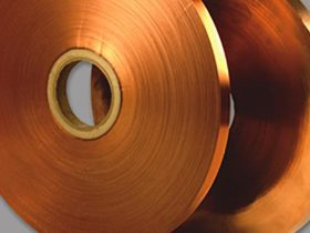 Copper Polyester Laminated Tape