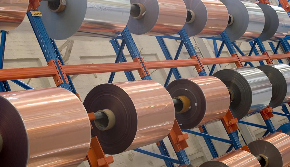 Aluminium and Copper Polyester Laminated Tape